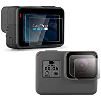 PCTC Tempered Glass Screen Protector Compatible for Gopro...