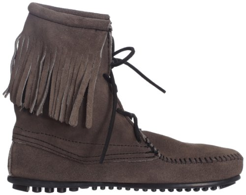 Minnetonka Womens Tramper Ankle Hi Boot Grigio