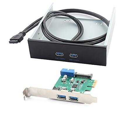 Amazon.com: eDealMax Frontal de ordenador de pantalla PCI-E ...