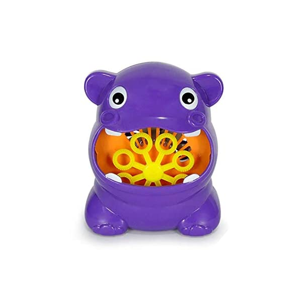 asiproper Cute Cartoon Animal Automatic Bubble Machine Blower Maker Kids Outdoor Toys
