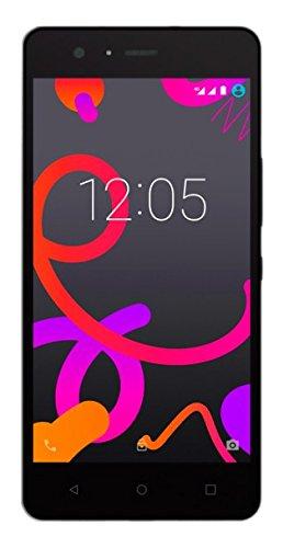BQ Aquaris M5 Smartphone black ( 5 Zoll FHD, Qualcomm Snapdragon 615 Octa Core, 16 GB + 3 GB RAM, 13 MP-Kamera, Android)