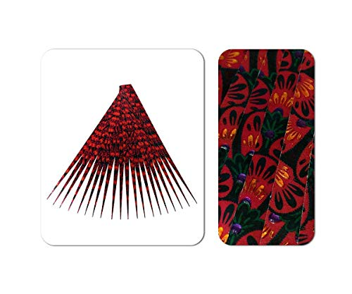 Paper Bead Strips with Gem Effect One Half Inch Wide Pre Cut Paper Strips for Paper Beads and other Paper Crafts from Ground Zero Creations
