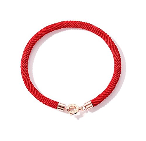 Bangle Boutique Designer Bracelets - Fashion Jewelry Misasha Simple Red String Bangle Red Line Bracelets Red Rope Gift