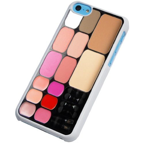 iphone 5C makeup palette Fashion Trend Design Case/Back cover Metal and Hard Plastic Case
