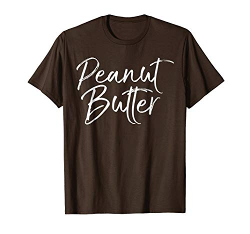 Peanut Butter Shirt Funny Matching PBJ Jelly Couple Costumes -