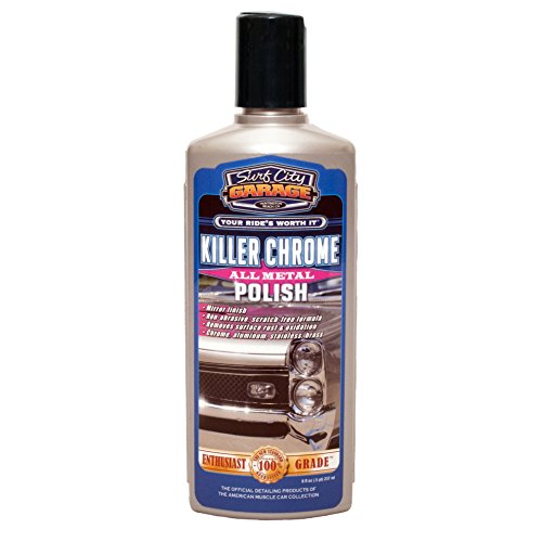 Surf City Garage 492 Killer Chrome Perfect Polish - 8 oz.