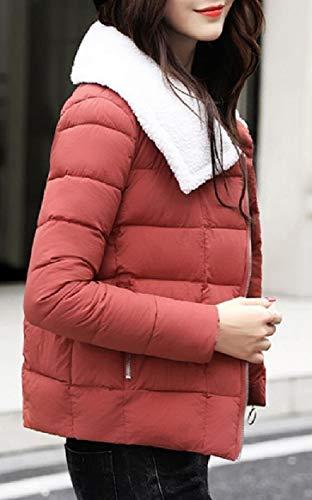 Donne Piumino Di Inverno Bavero 1 Sicurezza Delle Trapuntato Bgq744xRn