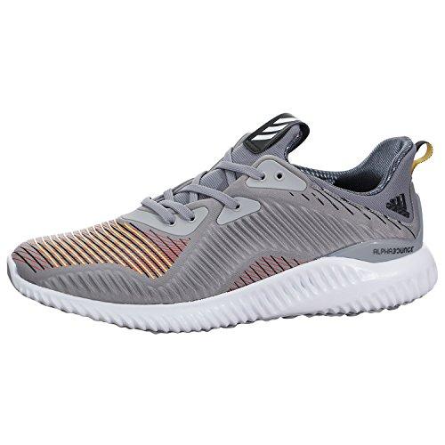adidas Performance Men's Alphabounce HPC m Running Shoe Medium Grey/Black/Black 8 M US