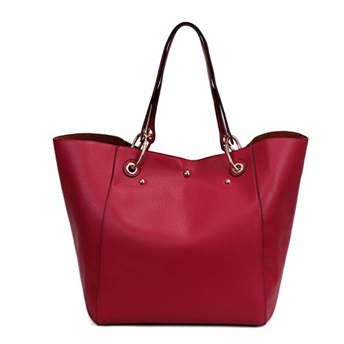 cuir bandoulière couleurs en à Épaule Sac main Dexuntong Dame 12 tout mode Fourre sac Shopping rouge1 Sac à xXaxYIFwq