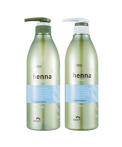 HENNA HAIR SHAMPOO 720ml + RINSE 720ml (Best Hair Oil For Mens In Pakistan)