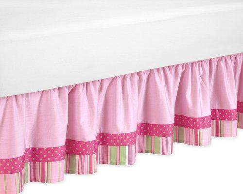 Sweet Jojo Designs Queen Kids Children's Bed Skirt for Jungle Friends Bedding Sets by Sweet Jojo Designs