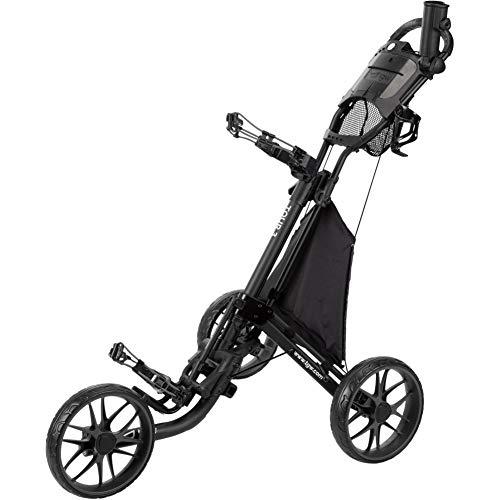 (TGW Tour 3-Wheel Push Cart Dark Grey/Black)