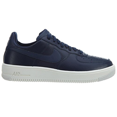 Nike Menns Air Force 1 Ultraforce Lær Basketball Sko Midnatt Navy