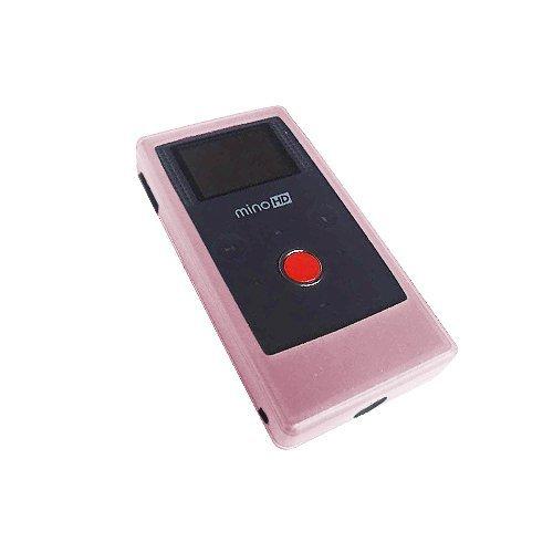 - Flip Mino & Flip Mino HD Silicone Protective Cover Skin Case (PINK)