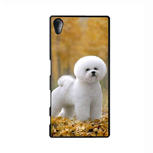 a Z5 E6653 Print Bichon Frise Tenerife Dog Shells Abs Fashion for Women ()