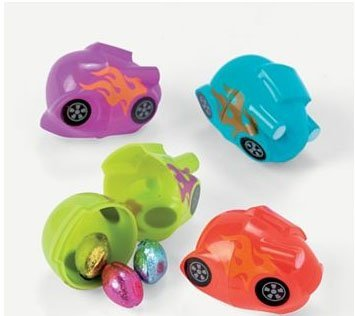 Oriental Trading Easter 37/1009 Dozen Pack Race Car Easter E
