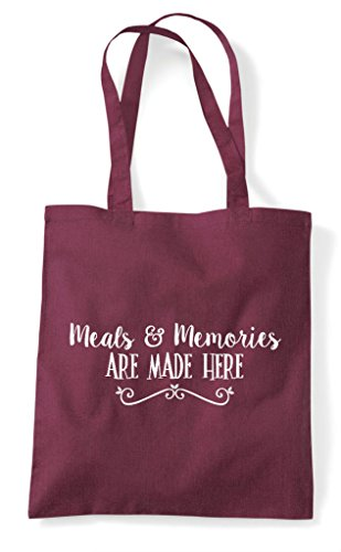 Are Tote Memories And Here Burgundy Bag Meals Made Shopper OEwPqx6ngR