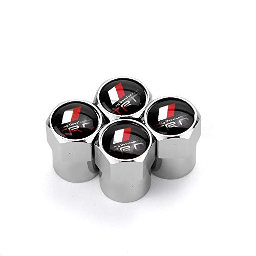 Zhmyyxgs Car Tire Valve stem caps Decoration Accessories TRD Logo for Toyota Racing A Set of 5 Pcs