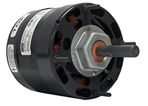 Fasco D1061 4.4-Inch Diameter Shaded Pole Motor, 1/20-1/30-1/60 HP, 115 Volts, 1500 RPM, 3 Speed, 2-1.7-1.4 Amps, CCW Rotation, Sleeve Bearing