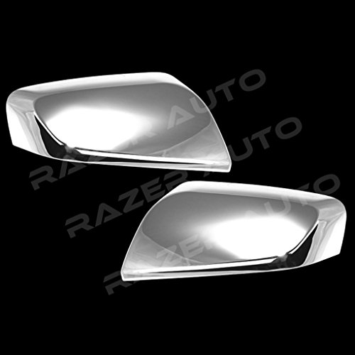 Razer Auto Triple Chrome Plated Mirror Cover 1 Pair for 2014-2015 Chevrolet Chevy Impala