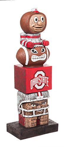 - Evergreen NCAA Ohio State Buckeyes Tiki Totem