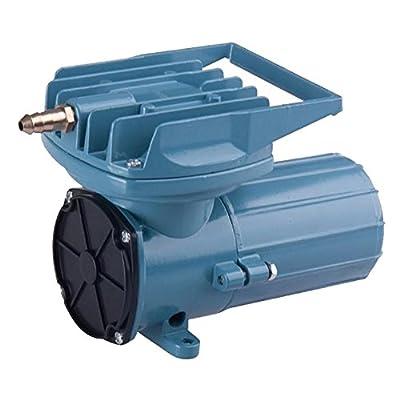 DC 12V 68Lpm/Min 35W Aquarium Air Pumps 1077GHP Fish Pond Tanks Aquaculture Hydroponics Portable Air Pump Compressor Aerator Oxygen Supplies