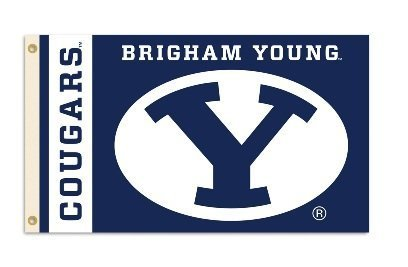 Brigham Young Cougars 3 Ft. X 5 Ft. Flag W Grommets by BSI Products, Inc.