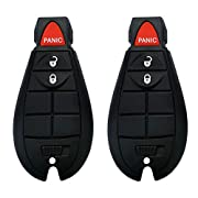 YITAMOTOR 2 Uncut Key Fob Replacement for M3N5WY783X IYZ-C01C Keyless Entry Remote 3 Button Compatible for Charger Challenger Chrysler 300