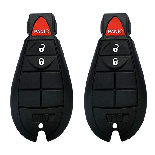 Dodge Keyless Entry Remote - Key Fob, YITAMOTOR Uncut Keyless Entry Remote 3 Button Replacement for M3N5WY783X IYZ-C01C