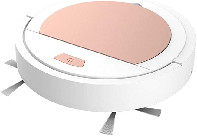 HYL Aspiradora Inteligente Barrer Robot, Aspirador Inteligente, máquina de la Limpieza del hogar, Aspirador Inteligente Perezoso (Color : White): Amazon.es: Hogar
