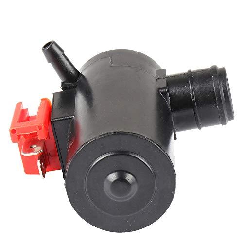 Windshield Washer Pump Motor Front/Rear Replacement fit for 2003-2011 Honda Civic 1984-1993 Honda Accord 38512-SA5-013 ()