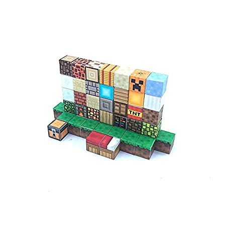 Amazon.com: Best Quality 1pcs Minecraft Magnetic Building ...