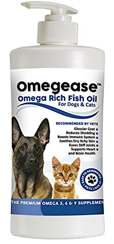Finest For Pets Omega 3, 6 & 9 Fish Oil for Dogs and Cats - 32 Ounces