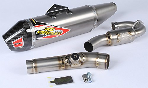 Head Pro Pipe Titanium Circuit (Pro Circuit 0321725F Ti-6 Exhaust System with Carbon End Cap)