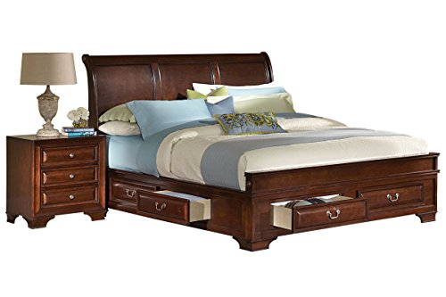 Cadence King Storage Bed King Sleigh Bedroom Suite