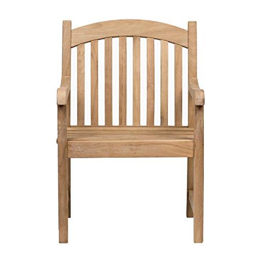 Amazonia Teak Newcastle Teak Bench: Amazon.com : Amazonia Teak Newcastle Teak Armchair : Patio Chairs : Garden & Outdoor