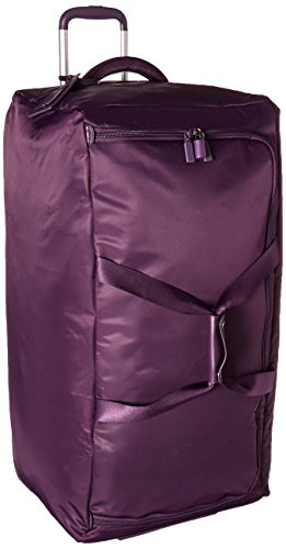 lipault-0-percent-pliable-30-wheeled-duffel-suitcase-purple