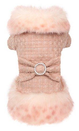 Puppy Angel Marple Millionaire Hundemantel, Rosa