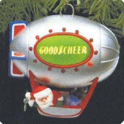 Good Cheer Blimp 1987 Hallmark Ornament QLX7046