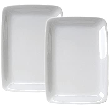 HIC Harold Import Co White Porcelain 8 x 12.25 Inch Rectangular Platter Set of 2  sc 1 st  Amazon.com & Amazon.com | HIC Harold Import Co. 9.5