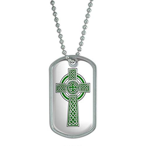 Celtic Christian Cross Scotland Military