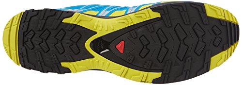 Salomon XA Pro 3D GTX, Scarpe da Trail Running Uomo Multicolore (Cloisonné / Navy Blazer / Sulphur Spring 000)