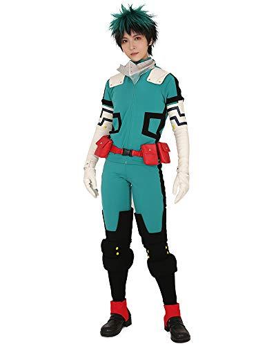 miccostumes Men's Midoriya Izuku Deku Cosplay Costume