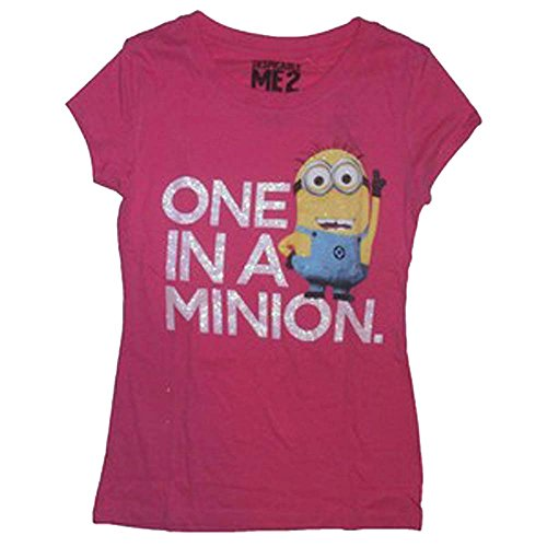 despicable-me-one-in-a-minion-junior-t-shirt-xl