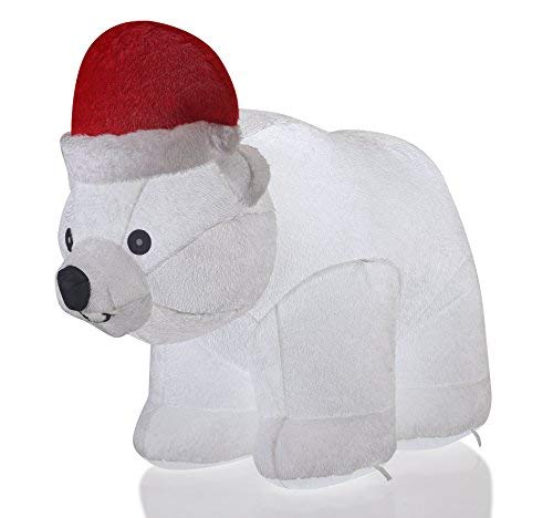 Lighted Outdoor Christmas Elephant