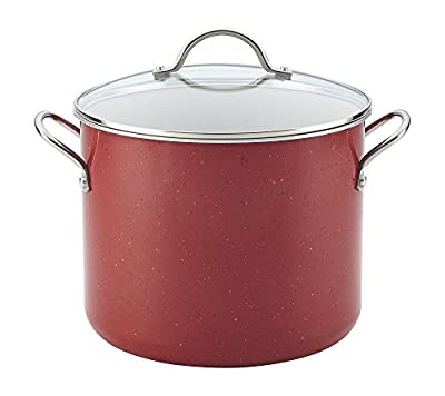 Farberware New Traditions Speckled Aluminum Nonstick 12-Quart Covered Stockpot