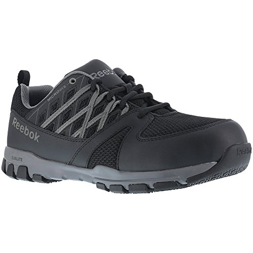 Oxford 5 Sublite Athletic W Reebok Toe 11 Black Shoes Women's Work Soft qvE56WStwf
