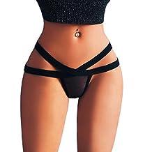 Jushye Sexy Panties,Womens G-String Mesh Briefs Underwear Lingerie T String Thongs