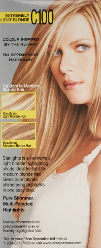 L'Oréal Paris Feria Permanent Hair Color, C100 Star Lights Extreme (Highlighting Kit) by L'Oreal Paris (Image #4)
