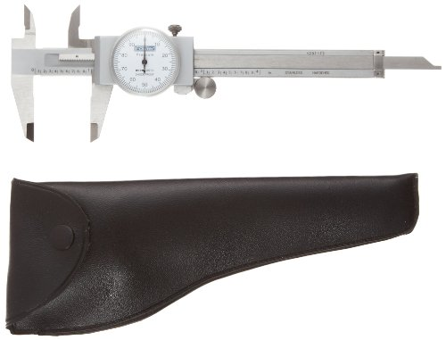 Fowler Full Warranty Stainless Steel Shockproof Dial Caliper, 52-008-704-0, 0-4